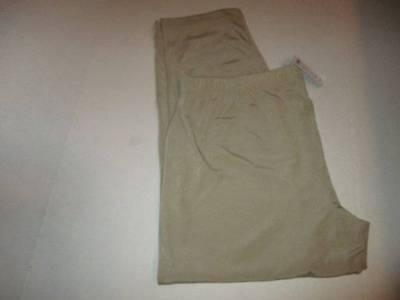 Chico's 3 Reg. Traveler's Pant Khaki Essential Slim $69. New W/Tag