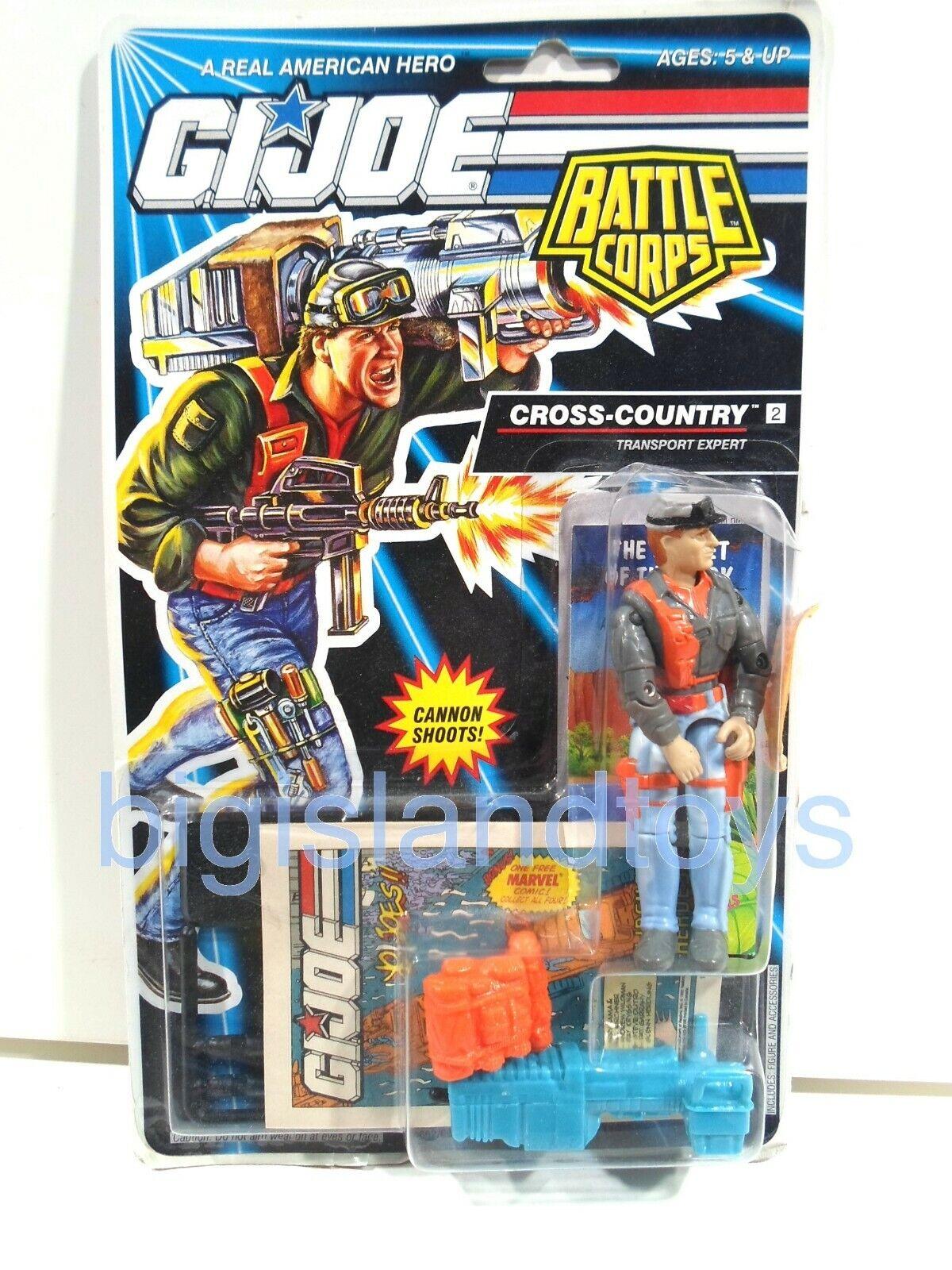 GI Joe A Real American Hero Action Figures Sealed 1991 1992 /& 1993 MULTI-LISTING