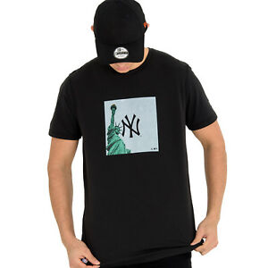 NEW-York-Yankees-MLB-stampa-citta-NEW-ERA-T-shirt