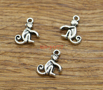 20//50pcs conch antique silver charms pendants jewelry DIY finding 22*11mm