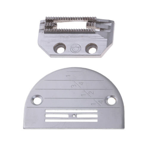 Industrial Needle Throat Plate /& Feed Dog E14 FOR Juki Singer Brother Janome