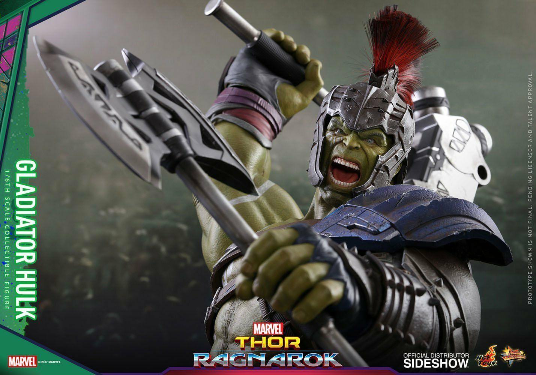 Thor  ragnorak  Gladiador Sexta Escala Figura Hulk   MMS430  Hot Juguetes