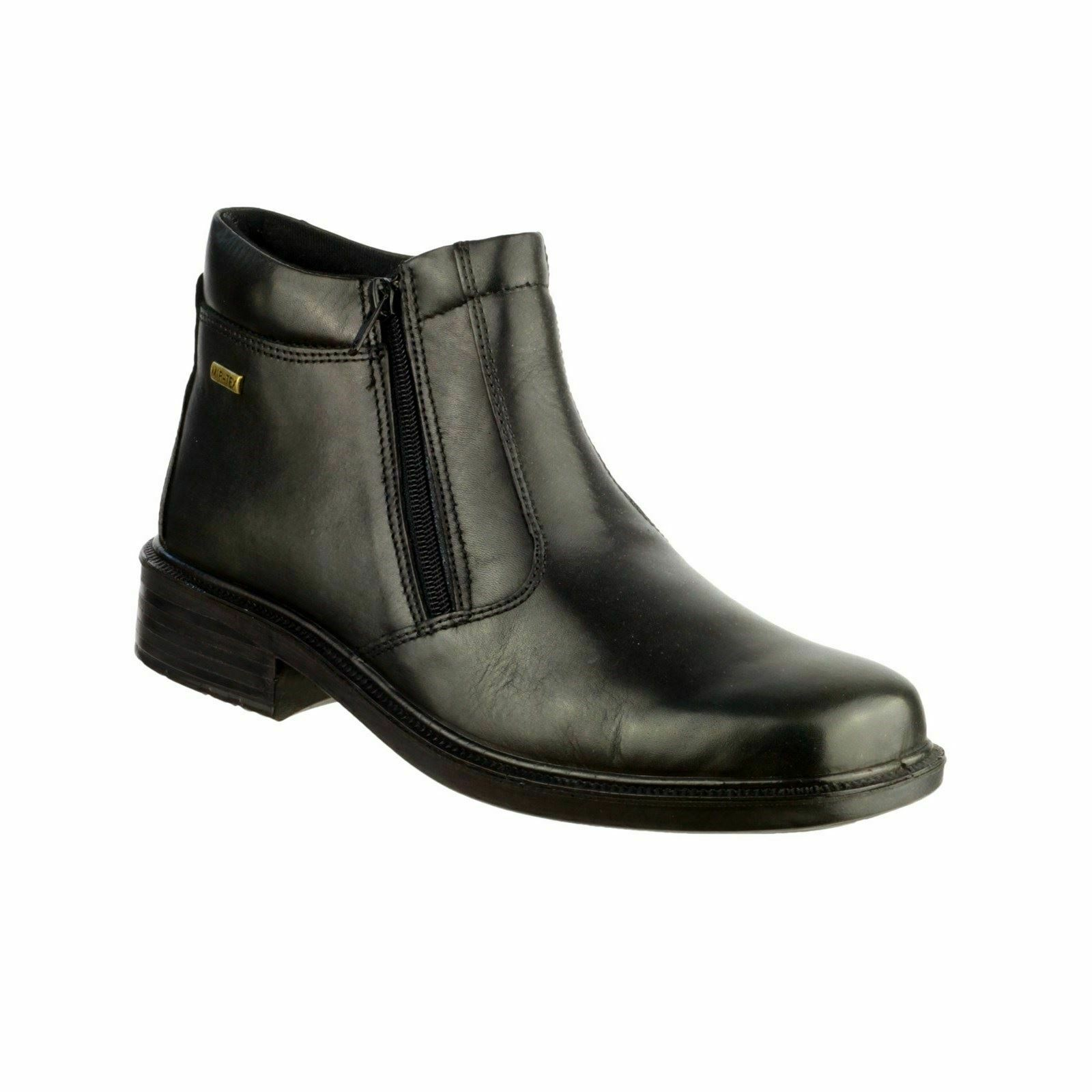 Cotswold Kelmscott Black Mens Boots Leather