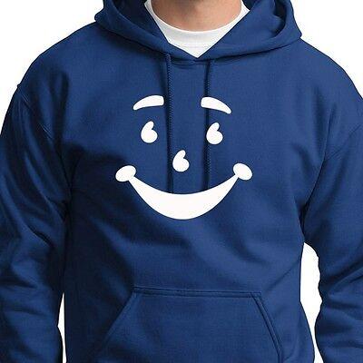 Kool Aid Smile Face Retro Funny Tee Vintage Drink Novelty gift Crew Sweatshirt