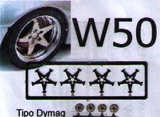 "RUOTE 1/43 DYMAG 19""  BMW GTR+CORVETTE ZR1+BMW 850+CAMARO ecc:  Sprint43  W50"