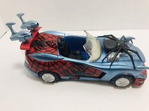 Spiderman-Car-Spider-Hood-Plastic-Toy-Biz-Marvel-2005