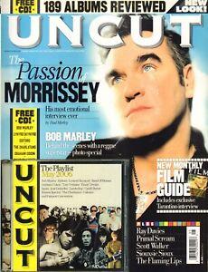 MAGAZINE UNCUT 2006 # 108 - MORRISSEY/SCOTT WALKER/LYNYRD SKYNYRD/BOB MARLEY