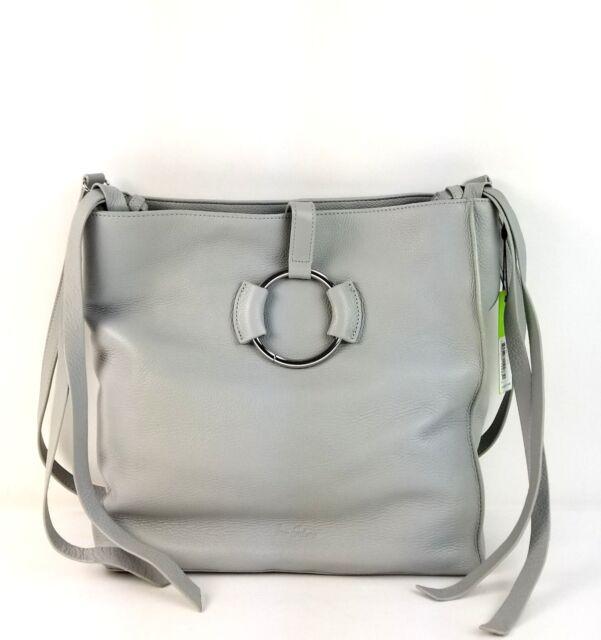 d24586058185 Sam Edelman Satchel Large Pebble Leather Jaelyn Hobo Handbag (Denim) MSRP    248