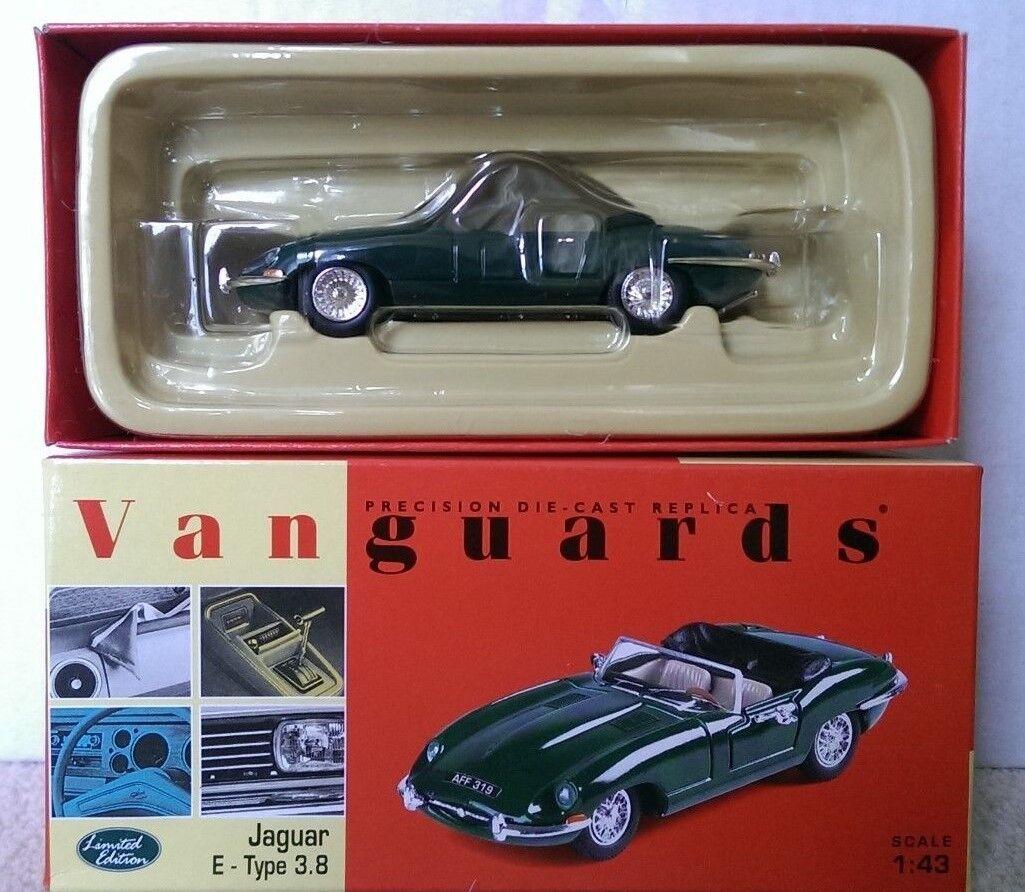 Corgi Vanguards VA04901 Jaguar Jaguar Jaguar E-Type 3.8 Roadster BRG Ltd Ed No. 1704 of 4000 eb7947