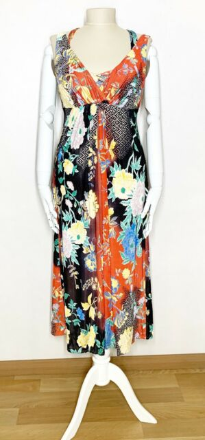 ETRO Multicolor Floral Jersey Sun Dress - Size IT 42 - US 0/2