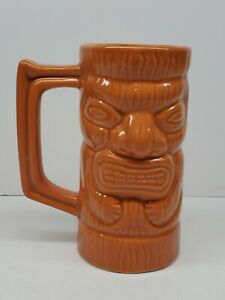 Ceramic Source Don Q Hawaiian Totem Tiki Drink Bar Mug