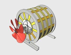 Magnet-Motor-Free-Energy-Generator-3D-Model-STL-STEP-DWG-3D-Printer-NEW-2019