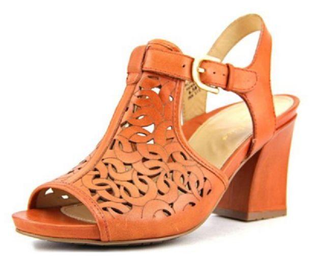 Earthies Zapatos-Sandalia de cuero para para para mujer Acadia Henna US 5, UK 3, EUR 35 - 35.5  Más asequible