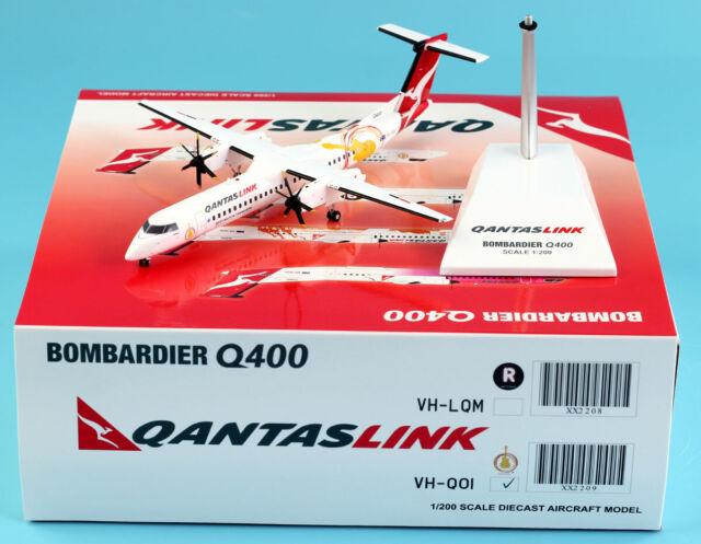 JC Wings 1:200 Qantas Link BOMBARDIER Dash8-Q400 Diecast Aircraft Model  VH-QOI