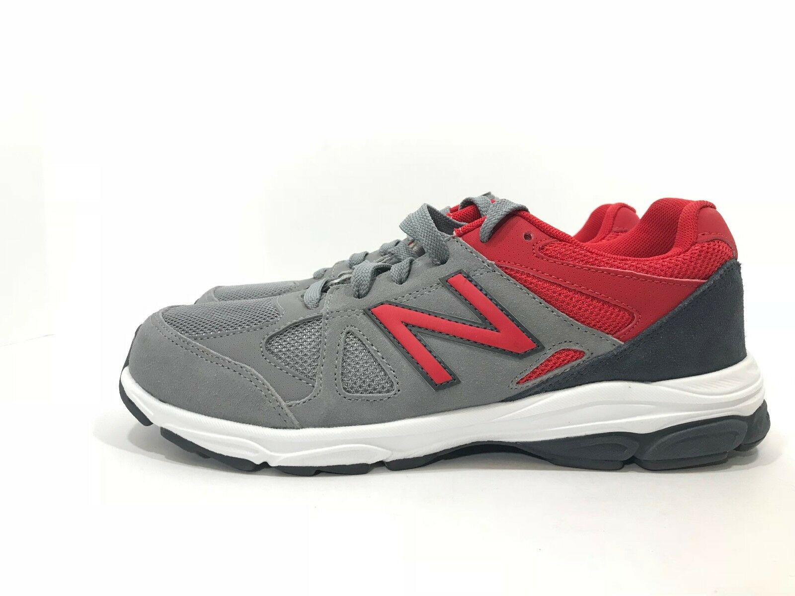New Balance 888 Grey Red Men's Lightweight Sneakers shoes Size 6.5 NEW
