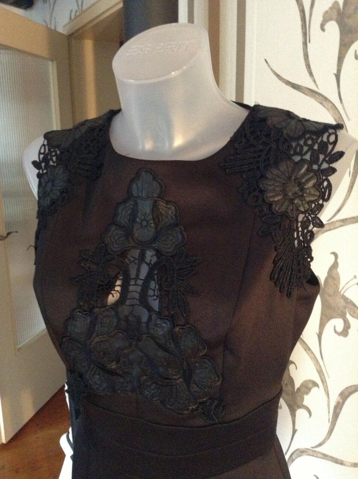 BEBE Kleid Schwarz  Gr. S NEU Polyester