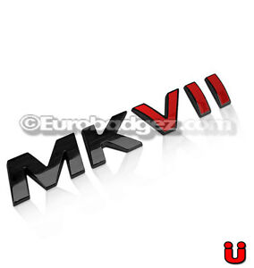 1 BRAND NEW 3D 1.8T Gloss Black Emblem Badge 19mm 1.8T BLACK
