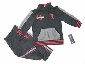 US POLO ASSN INFANT BOYS 2PCS TRACKSUIT MSRP $42.00