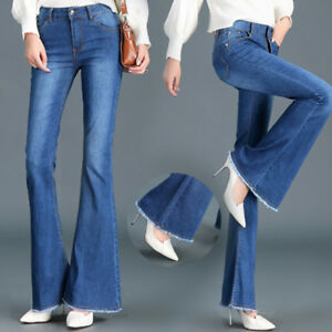 Wide bootcut jeans