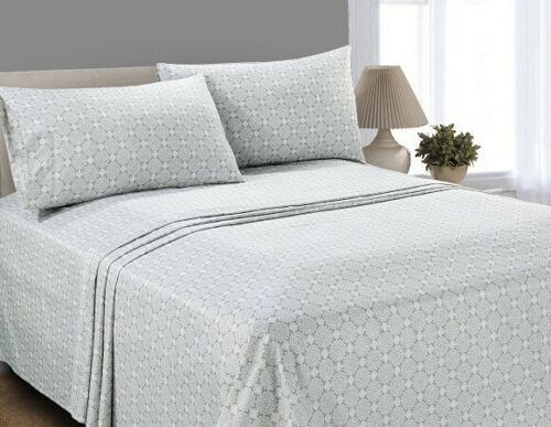 MAINSTAYS MICROFIBER SHEET SET *CHECK FOR SIZE AND COLOR* *DISTRESSED PKG*