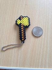 minecraft ax Keychain gashapon japan strap