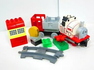 Lego-Duplo-Stanley-Train-Thomas-amp-Friends-Rare-Engine-w-Cargo