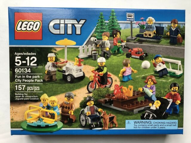 LEGO 60134 City Fun in the Park City People Pack - Retired New Sealed