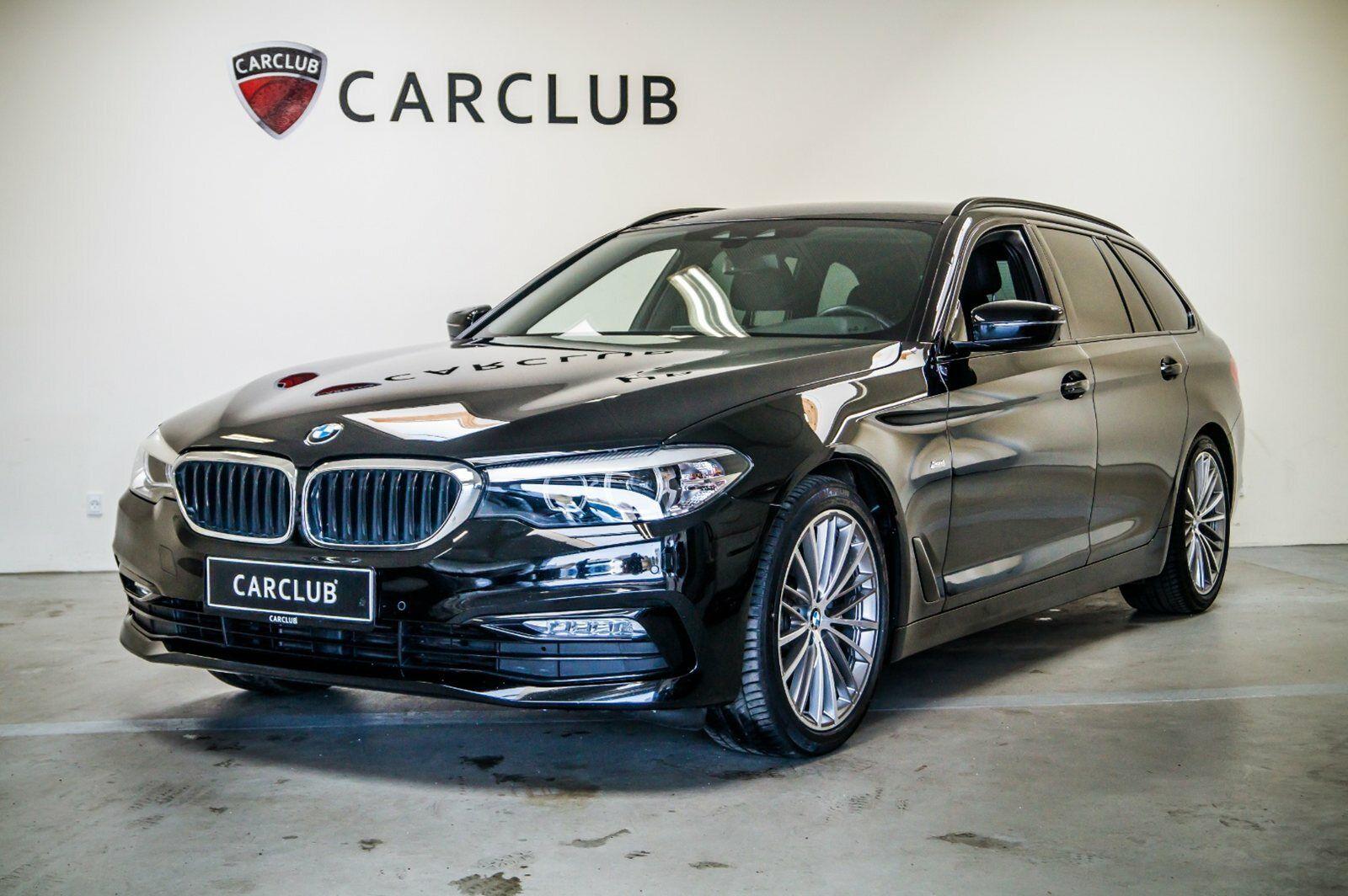 BMW 520d 2,0 Touring aut. 5d - 529.900 kr.