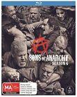 Sons Of Anarchy : Season 6 (Blu-ray, 2015, 4-Disc Set)