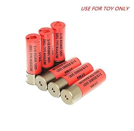 Cyma Airsoft Toy 30rds M870 Shotgun Shell for Marui System (6pcs) Cyma-m069