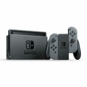 Nintendo-Switch-avec-paire-de-Joy-Con-Gris