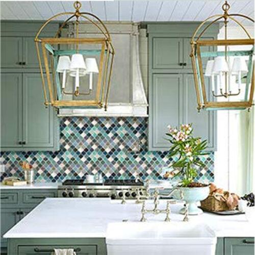 Modern Self Adhesive Tile Floor Wall Decal Sticker DIY Kitchen Bathroom Decor