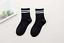 Ladies striped cotton sports socks socks casual soft warm socks