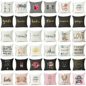 18-034-Funny-Art-Words-Cotton-Linen-Pillow-Case-Sofa-Throw-Cushion-Cover-Home-Decor