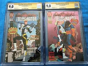 Deathstroke-the-Terminator-10-and-11-set-DC-CGC-SS-9-0-Signed-by-Mike-Zeck