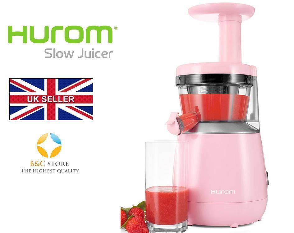 Hurom HP Slow Juicer Jus maker fruits personal series HP-PPE12 Rose Sain
