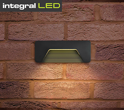 Brick Light Surface Mounted LED Wall Light Outdoor Garden Patio IP65 3W PathLUX