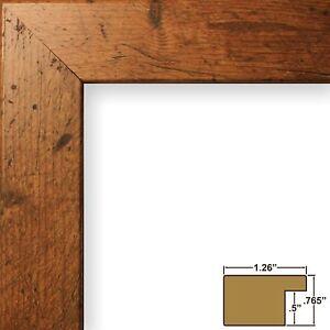 Craig-Frames-Bauhaus-1-25-Modern-Rustic-Light-Walnut-Brown-Picture-Frame
