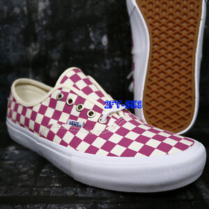 2aa6946eae21e1 Image is loading VANS-AUTHENTIC-PRO-CHECKERBOARD-FUCHSIA-PINK-MEN-039-