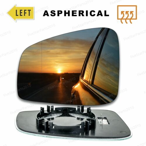 Left side Wide Angle wing mirror glass for Renault Laguna 2007-15 Heated