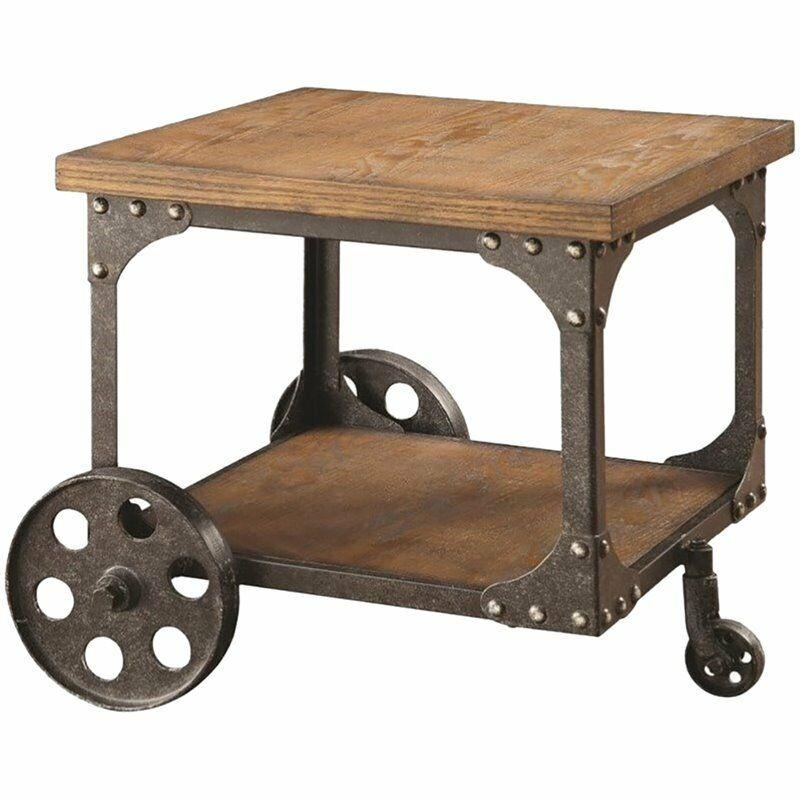 Ashley Casa Mollino Square End Table In Dark Brown For - Casa Mollino Sofa Table