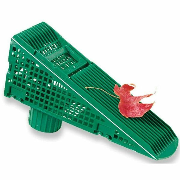 4 Pack Clog Plastic Wedge 9 5 In Green Downspout Screen