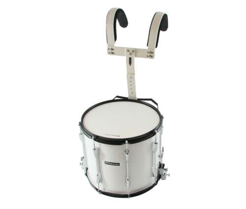 """Trixon Scholastic Marching Snare 14/""""x 12/"""" White Polish"""