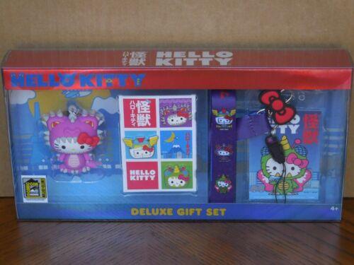 2020 SDCC Exclusive Hello Kitty Kaiju Deluxe 5 pc Gift Set 400 pcs
