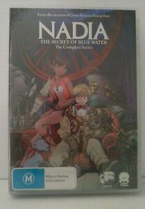 Nadia-The-Secret-of-Blue-Water-Anime-DVD-R4-Brand-New