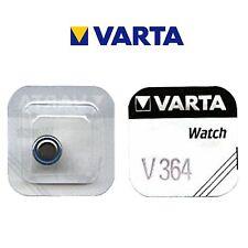 5 Stück VARTA V364 Knopfzelle Batterie - SR60 - SR621SW Uhrenbatterie SR621
