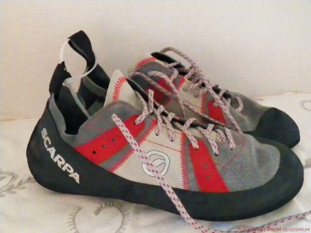 9f473f641d823e SCARPA Helix Climbing Shoes Size 42 Mens 9 Womans 10 70003 Rock Shoe Unisex  for sale online