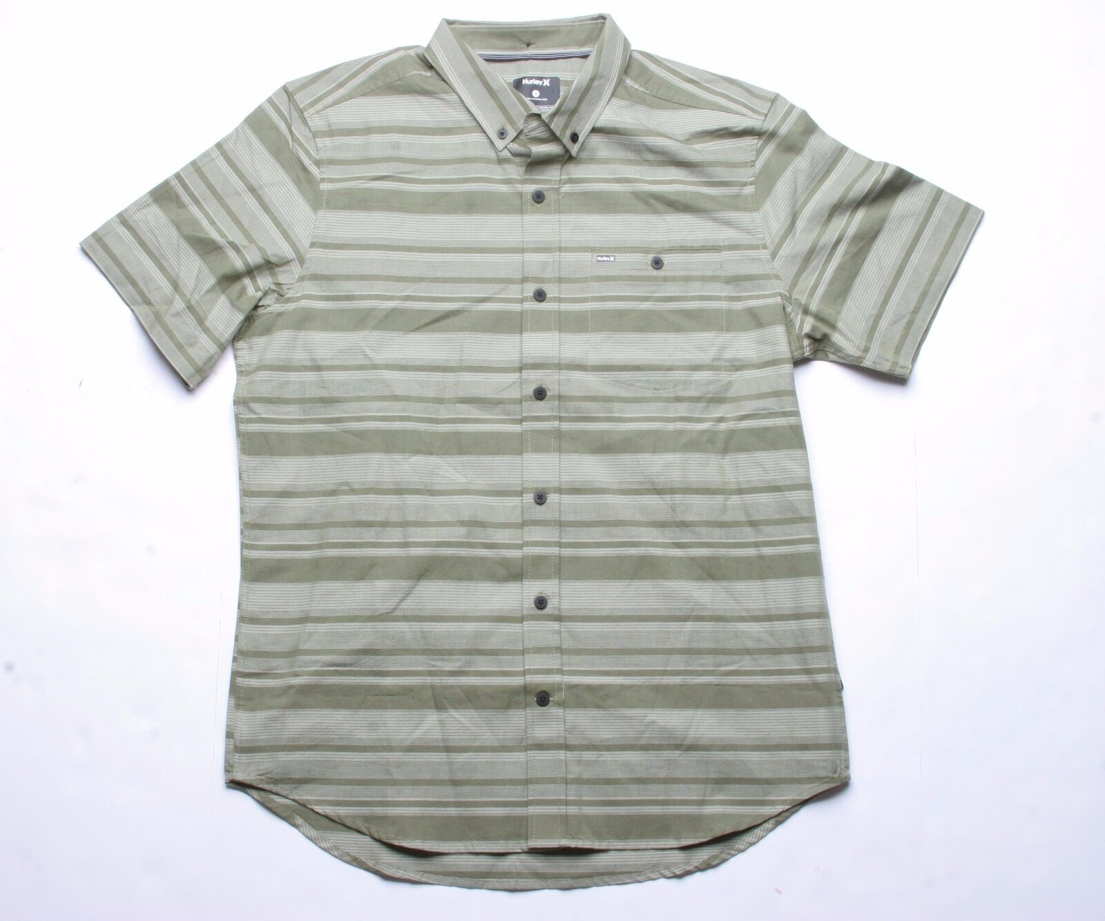 Hurley Fredh Woven Shirt (Green) M