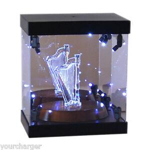 Acrylic Display Case Led Light Box For Swarovski Crystal