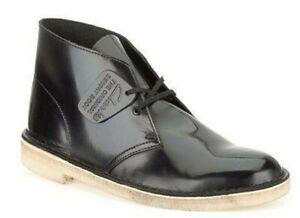 5m Black Boot Pelle Uk3d Us5 Clarks Original Desert Donna The Shine Hi fxanIqPHw